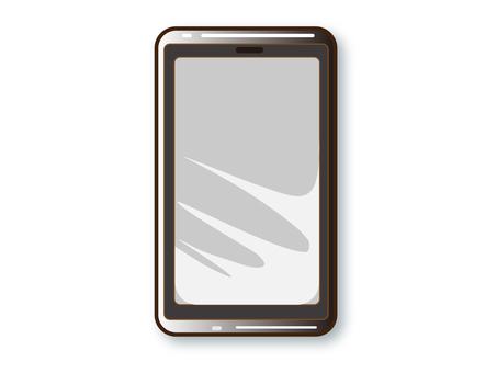 智能手機機身(黑色)