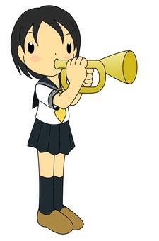 Trumpet girls