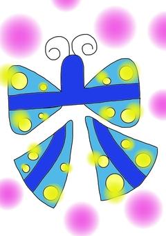 Six and butterflies