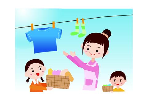 가족 세탁기