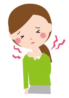 Women shoulder stiffness