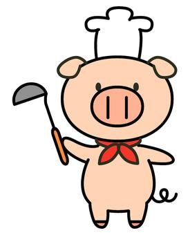 Pork cook