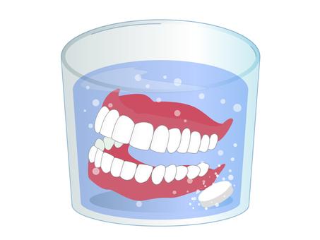 Denture cleansing