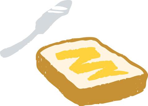 Butter toast 3