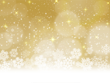 Snowflake gold background 02