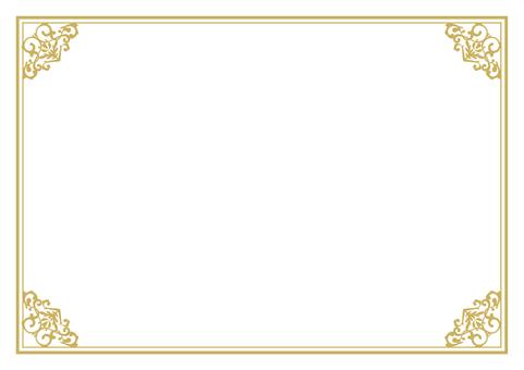 Elegant frame 008