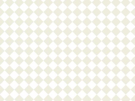Diamond pattern checkerboard beige background