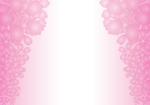 Cherry blossom design card 1