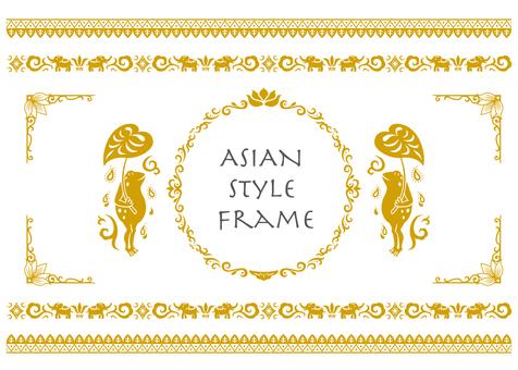 Asian style frame 2 (Kimcha)