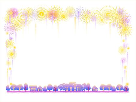 프레임 _ 불꽃 놀이 02