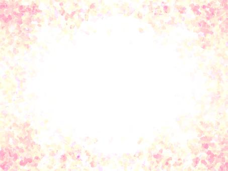 Glitter frame (pink)