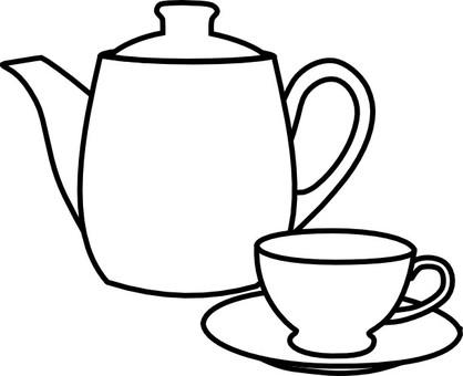 찻 주전자 컵 1-1