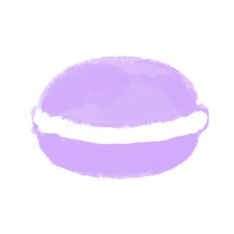 Macaroon purple