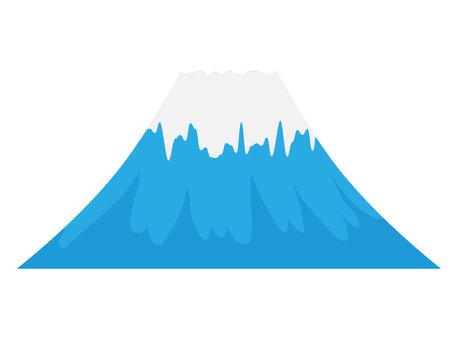 Mt. Fuji 【Blue · Real】