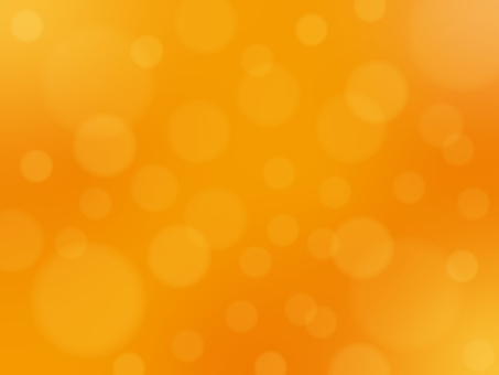 Orange round blur background