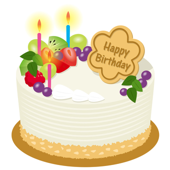 Birthday cake A
