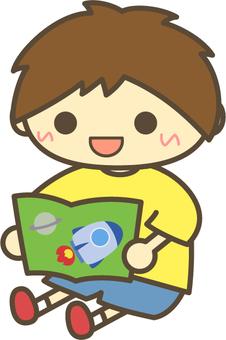 Reading _ Smile _ Man