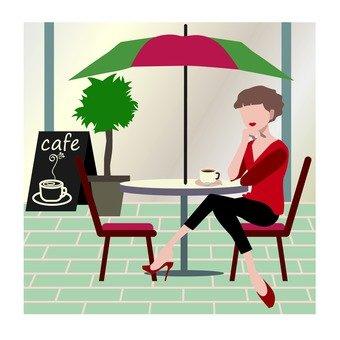 Cafe · female