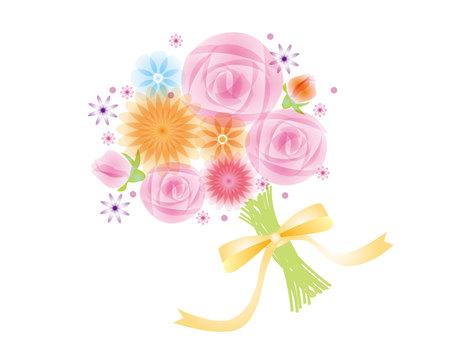 ดอกกุหลาบช่อดอกกุหลาบ