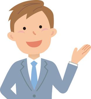 70623. Male employee, upper body 15