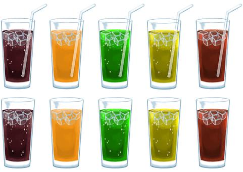 Soft drink set