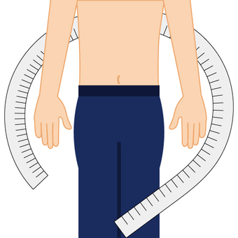 Image of health check (measure size)