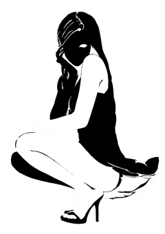 Female silhouette 2