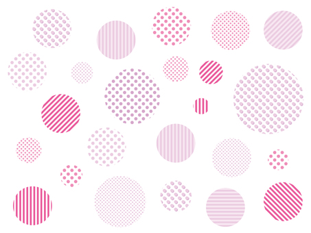Dot Pattern Pink Swatch