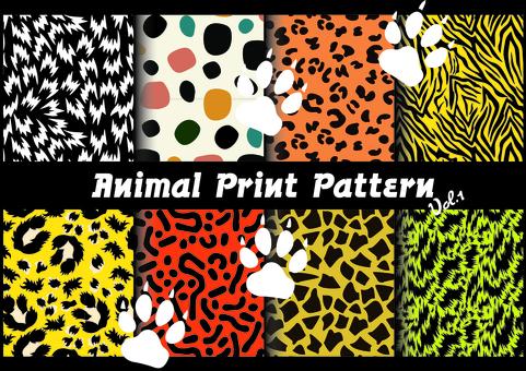 Animal print pattern vol, 1