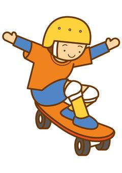 Skateboard 4c