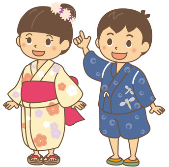 Summer Kids Yukata
