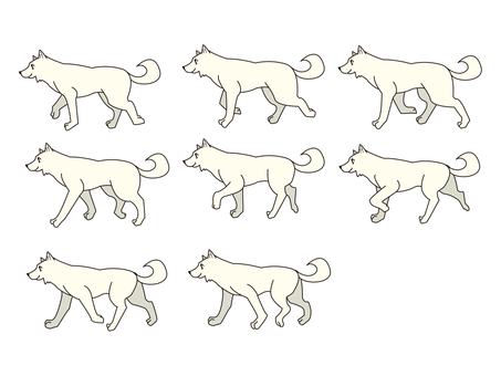 Dog illustration 02