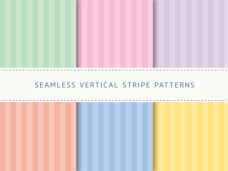 Set of thick stripes