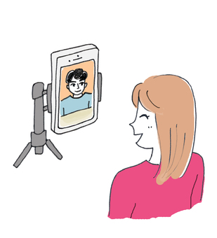 Online matchmaking video call