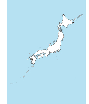 Map of Japan _c