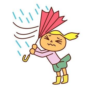 Storm and umbrella 2