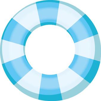 浮輪(藍色)