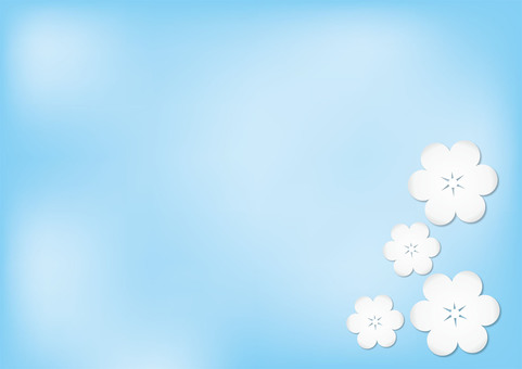 Blue and White Flower 2