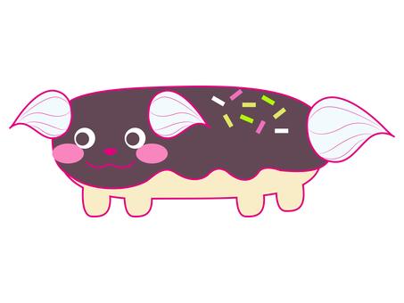Eclair dog