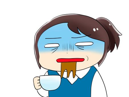 Coffee was too sweet