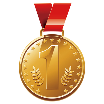 Gold medal (No 1)