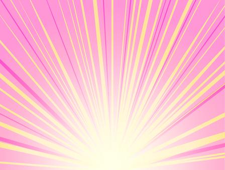 Radial light wallpaper