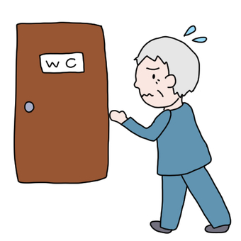 老男人尿頻尿道入廁