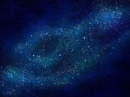 밝은 밤하늘