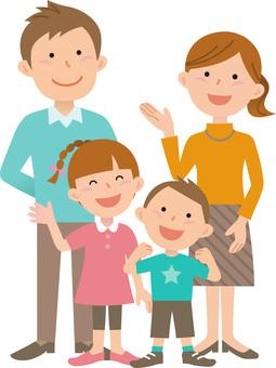 Family of four, 6