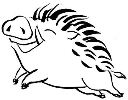 멧돼지 3