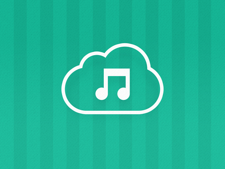Cloud-type music delivery service image