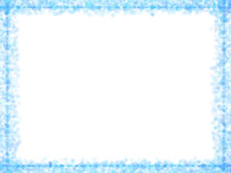 Dot frame 2 (blue)