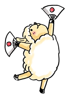 Cheering Sheep 2