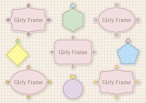 Girly Frame 005